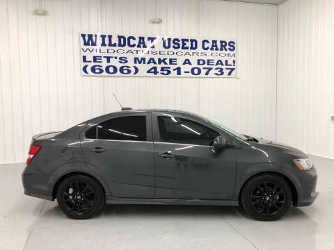 2017 Chevrolet Sonic for sale at Wildcat Used Cars in Somerset KY