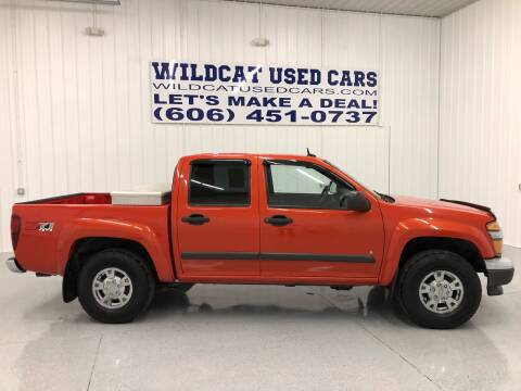 2008 Chevrolet Colorado for sale at Wildcat Used Cars in Somerset KY