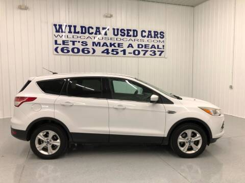 2013 Ford Escape for sale at Wildcat Used Cars in Somerset KY