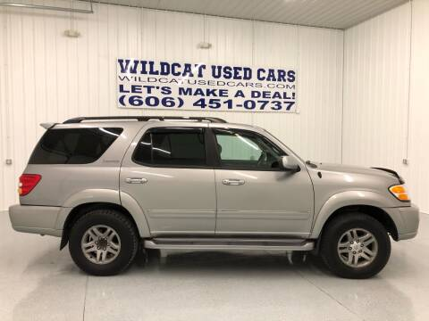 2003 Toyota Sequoia for sale at Wildcat Used Cars in Somerset KY