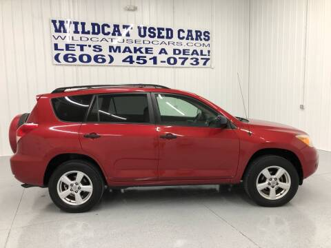2006 Toyota RAV4 for sale at Wildcat Used Cars in Somerset KY