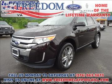 2013 Ford Edge for sale in Pounding Mill, VA