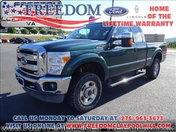 2011 Ford F-250 Super Duty for sale in Pounding Mill, VA