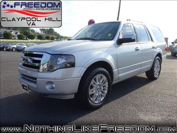 2014 Ford Expedition for sale in Pounding Mill, VA