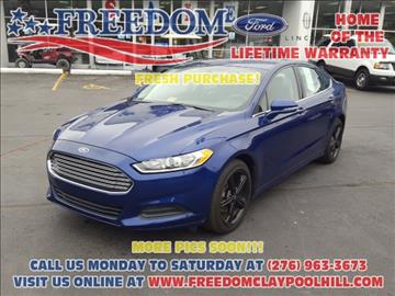 2013 Ford Fusion for sale in Pounding Mill, VA