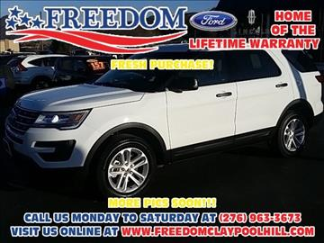 2017 Ford Explorer for sale in Pounding Mill, VA