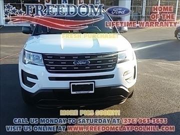2017 Ford Explorer for sale in Pounding Mill, VA