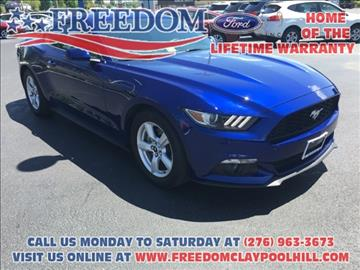 2015 Ford Mustang for sale in Pounding Mill, VA