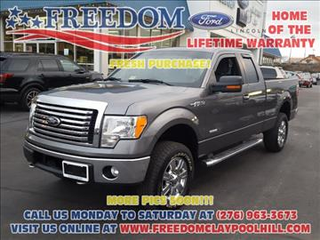 2012 Ford F-150 for sale in Pounding Mill, VA