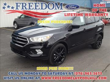2017 Ford Escape for sale in Pounding Mill, VA