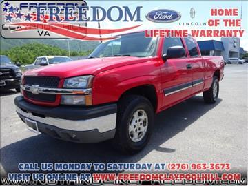 2003 Chevrolet Silverado 1500 for sale in Pounding Mill, VA