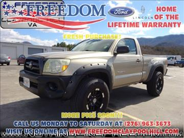 2005 Toyota Tacoma for sale in Pounding Mill, VA