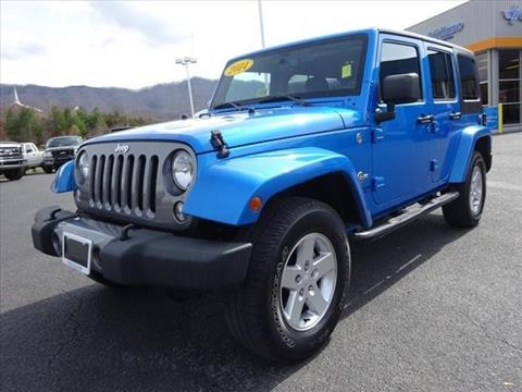 2014 Jeep Wrangler Unlimited for sale in Pounding Mill, VA