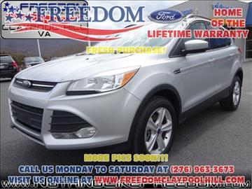 2014 Ford Escape for sale in Pounding Mill, VA