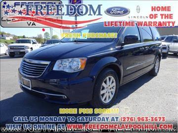 2015 Chrysler Town and Country for sale in Pounding Mill, VA
