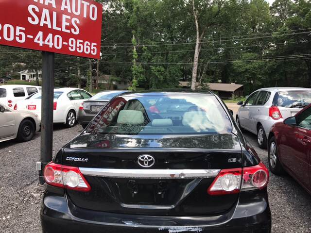 2011 Toyota Corolla for sale at EMMA AUTO SALES LLC in Birmingham AL