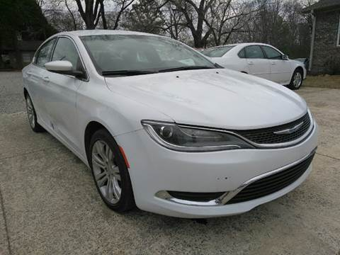 2015 Chrysler 200 for sale in Birmingham, AL