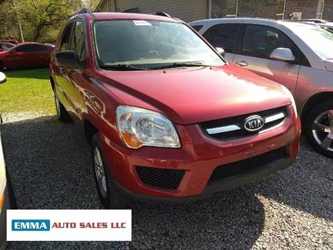 2009 Kia Sportage for sale at EMMA AUTO SALES LLC in Birmingham AL