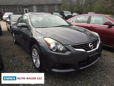 2010 Nissan Altima for sale at EMMA AUTO SALES LLC in Birmingham AL