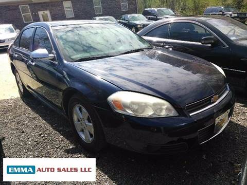 2011 Chevrolet Impala for sale at EMMA AUTO SALES LLC in Birmingham AL