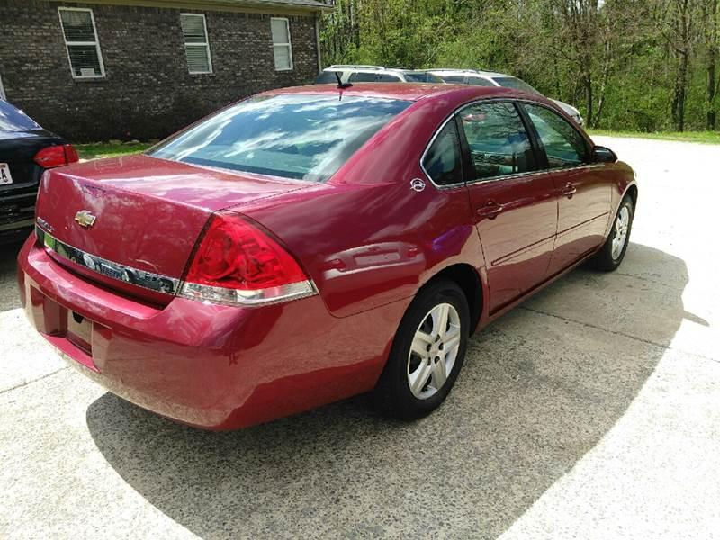 2006 Chevrolet Impala for sale at EMMA AUTO SALES LLC in Birmingham AL