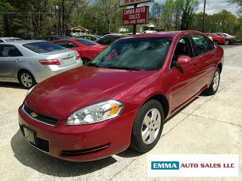 2006 Chevrolet Impala for sale at EMMA AUTO SALES LLC in Birmingham AL