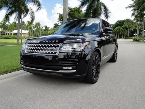 2015 Land Rover Range Rover for sale in Boca Raton, FL