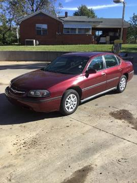 2002 Chevrolet Impala for sale in Olive Branch, MS