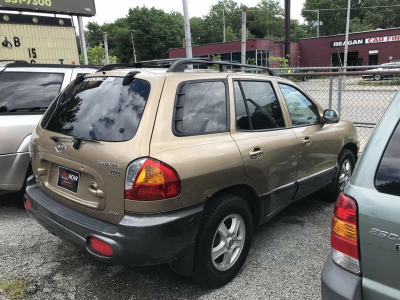 2004 Hyundai Santa Fe For Sale At Cars Now KC In Kansas City MO