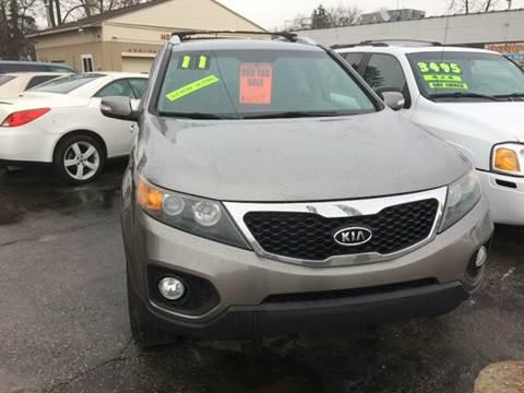 2011 Kia Sorento for sale at Holiday Auto Sales in Grand Rapids MI