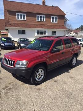 2004 Jeep Grand Cherokee for sale at Holiday Auto Sales in Grand Rapids MI