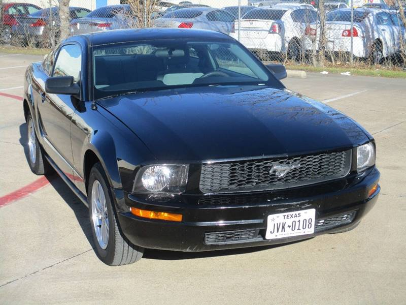 2008 ford mustang v6 deluxe in arlington tx - carfit inc.