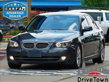 2010 BMW 5 Series for sale at Drive Town in Houston TX