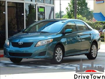 2010 Toyota Corolla for sale at Drive Town in Houston TX