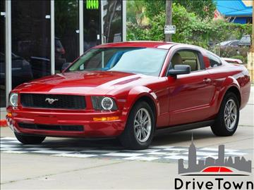 2005 Ford Mustang for sale at Drive Town in Houston TX