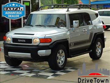2008 Toyota FJ Cruiser for sale at Drive Town in Houston TX