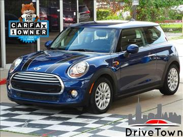 2014 MINI Hardtop for sale at Drive Town in Houston TX