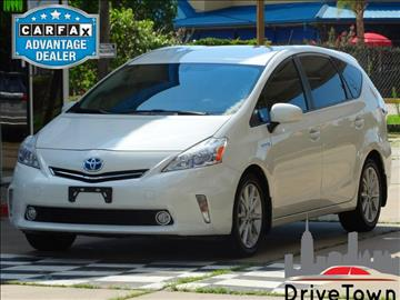 2012 Toyota Prius v for sale at Drive Town in Houston TX