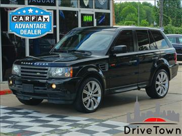 2007 Land Rover Range Rover Sport for sale at Drive Town in Houston TX