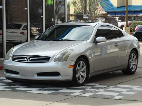 2005 Infiniti G35 For Sale In Houston, TX