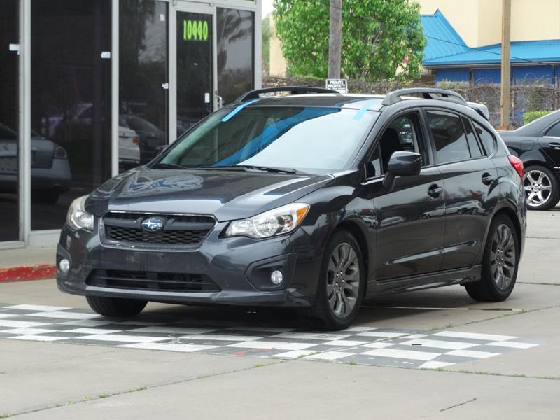 2013 Subaru Impreza Awd 20i Sport Premium 4dr Wagon Cvt In Houston
