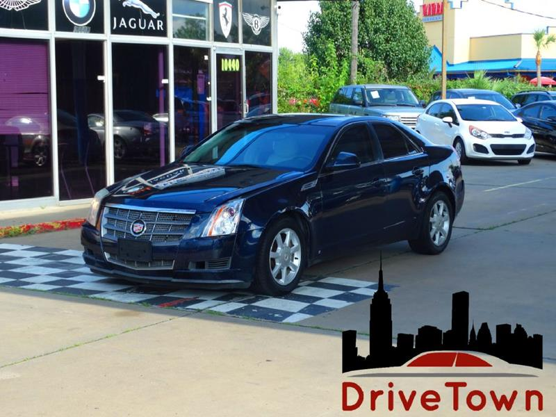 2008 Cadillac Cts 3 6L V6 4dr Sedan In Houston TX - Drive Town