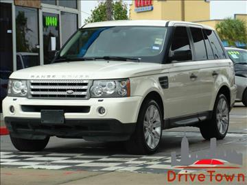 2009 Land Rover Range Rover Sport for sale at Drive Town in Houston TX