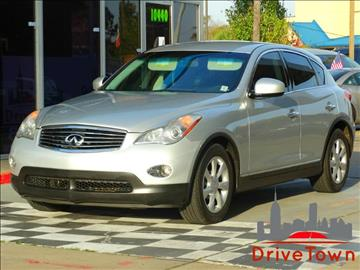 2010 Infiniti EX35 for sale at Drive Town in Houston TX
