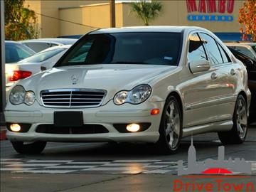 2007 Mercedes-Benz C-Class for sale at Drive Town in Houston TX