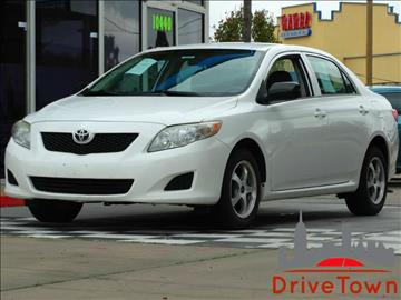 2009 Toyota Corolla for sale at Drive Town in Houston TX
