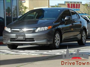 2012 Honda Civic for sale at Drive Town in Houston TX
