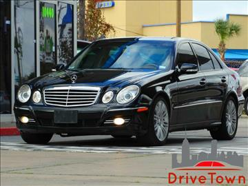 2008 Mercedes-Benz E-Class for sale at Drive Town in Houston TX