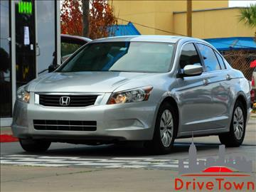 2009 Honda Accord for sale at Drive Town in Houston TX
