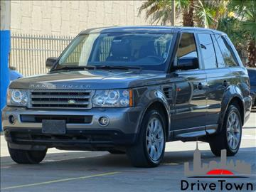 2008 Land Rover Range Rover Sport for sale at Drive Town in Houston TX